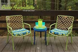 Paint For Outdoor Plastic Furniture by The Handcrafted Life Spray Paint Patio Furniture Makeover