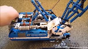 lego technic pieces lego technic 42042 motorized cabin lifting instructions need