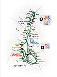 charleston trolley map free trolley map schedule city of charlottesville