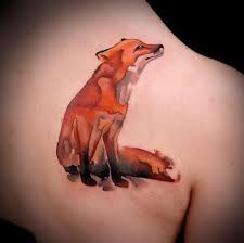 the 25 best watercolor fox tattoos ideas on pinterest fox art