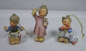 set 3 goebel berta hummel ornaments best gift