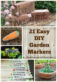 garden markers 21 and easy diy garden markers