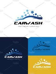 auto wash logo template u2014 transparent png auto bubbles