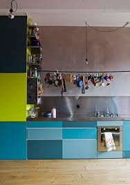 Apartment Therapy Kitchen Cabinets The House By The Danube Monday Inspiration Colorful Kitchen