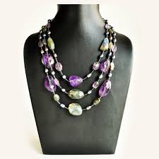 pearl necklace stores images Amethyst labradorite and pearl necklace JPG
