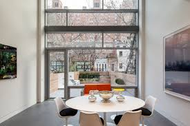 townhome designs grandeur and drama combined in a new york city modern townhouse