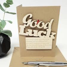 good luck cards notonthehighstreet com