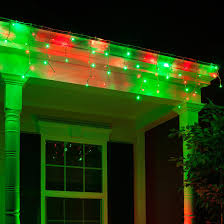 70 5mm led icicle lights green white wire yard envy