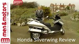 honda silverwing review 2003 youtube