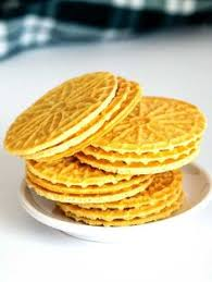 pizzelle della nonna recipe italian cookies vanilla and