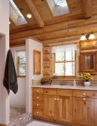 Cabin Bathrooms Ideas Home Design Fabulous Log Cabin Bathrooms Pictures