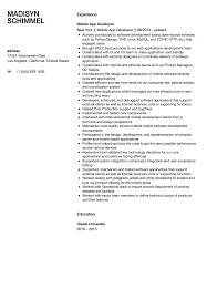 Sharepoint Developer Resume 100 Experienced Net Developer Resume Hostess Resume No