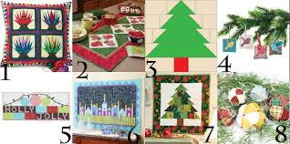 free christmas quilt patterns kits projects and more for happy