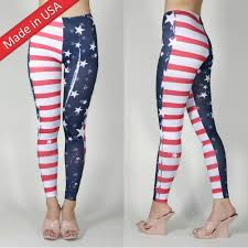 american flag super woman hero tights leggings pants usa s m l