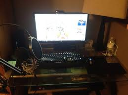 my pc gaming setup by nightfuryfilmsyt on deviantart