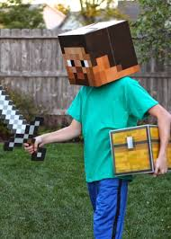 minecraft costume project denneler minecraft steve costume