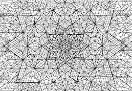 complex mandala coloring pages printable coloring home