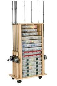 Fishing Rod Storage Cabinet Rod Tackle Storage Outdoors And Things For Josh Pinterest