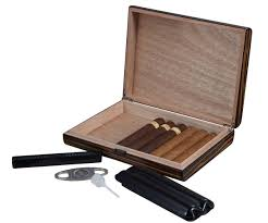 cigar gift set jerrod cigar humidor gift set with and cutter