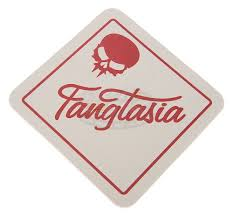true blood tv fangtasia drink coaster