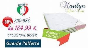 offerta materasso lattice materassi offerte tv 100 images materasso eminflex mito in
