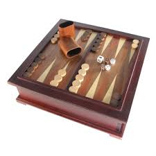 10 in 1 wooden multi game chess set