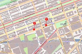 Boston Street Map In Boston Bombing Flood Of Digital Evidence Is A Blessing And A