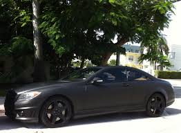 rick ross bentley wraith matte black mercedes cl 63 with black rims exotic cars on the