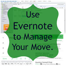 use evernote to manage your move u2014 practice hospitality