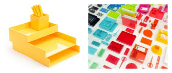 Colorful Desk Organizers Amazing These Cheery Color Coordinated Desk Accessories Are Poppin