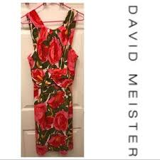 women u0027s david meister floral dress on poshmark