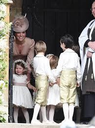pippa middleton wedding kate middleton dress opts for pale pink