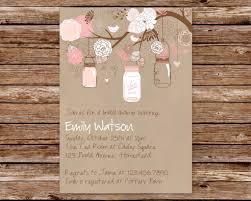 detail invitation mason jar for wedding invitation with cute