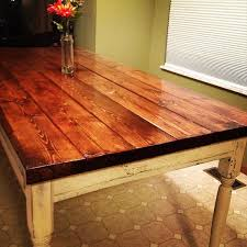 best of farm table top and how to build a farmhouse table diy