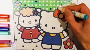 hello kitty coloring pages 4 color wonder hello kitty coloring
