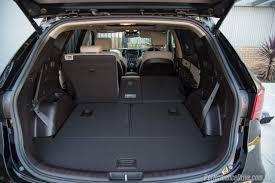 cargo space in hyundai santa fe 2016 hyundai santa fe sr review performancedrive