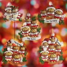 personalized monkey family christmas ornament 3 monkeys lila