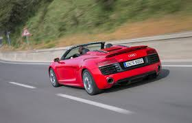 Audi R8 V10 Spyder - 2014 audi r8 v10 plus and v10 spyder first drive motor trend