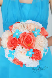 theme wedding bouquets inspiring davids bridal malibu and coral reef bridesmaid wedding