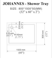 johannes sliding shower enclosure 58