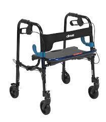 senior walkers with seat lightweight rollators rolling walkers