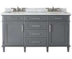 Bathroom Vanity Makeup Area by Sink Amazing Dual Sink Vanity Design Element Cosmo 60 Double