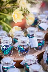 wedding favor jars m ms wedding favors