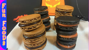how to make halloween macaroons halloween treats youtube