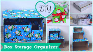 diy box organizer 5 storage project ideas cheap easy youtube