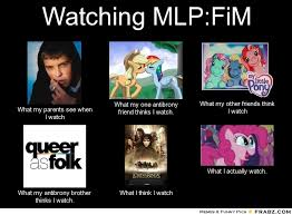 Mlp Fim Meme - mlp edition what people think i do what i really do know