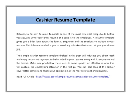 resume objective cashier resume sample cashier resume sample