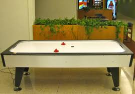 air hockey table over pool table file air hockey table jpg wikimedia commons