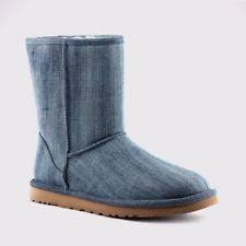 Comfort Colors Washed Denim Ugg Australia Denim Boots For Women Ebay