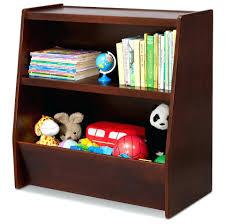 toy organizer bookcase kids wood bookcase toy organizer with storage bins